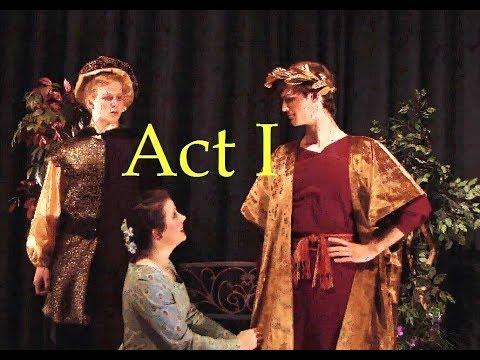 A Misdummer Night's dream, Act 1, scene 1