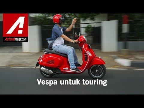 Vespa GTS Super 150 I-get Review & Test Ride By AutonetMagz