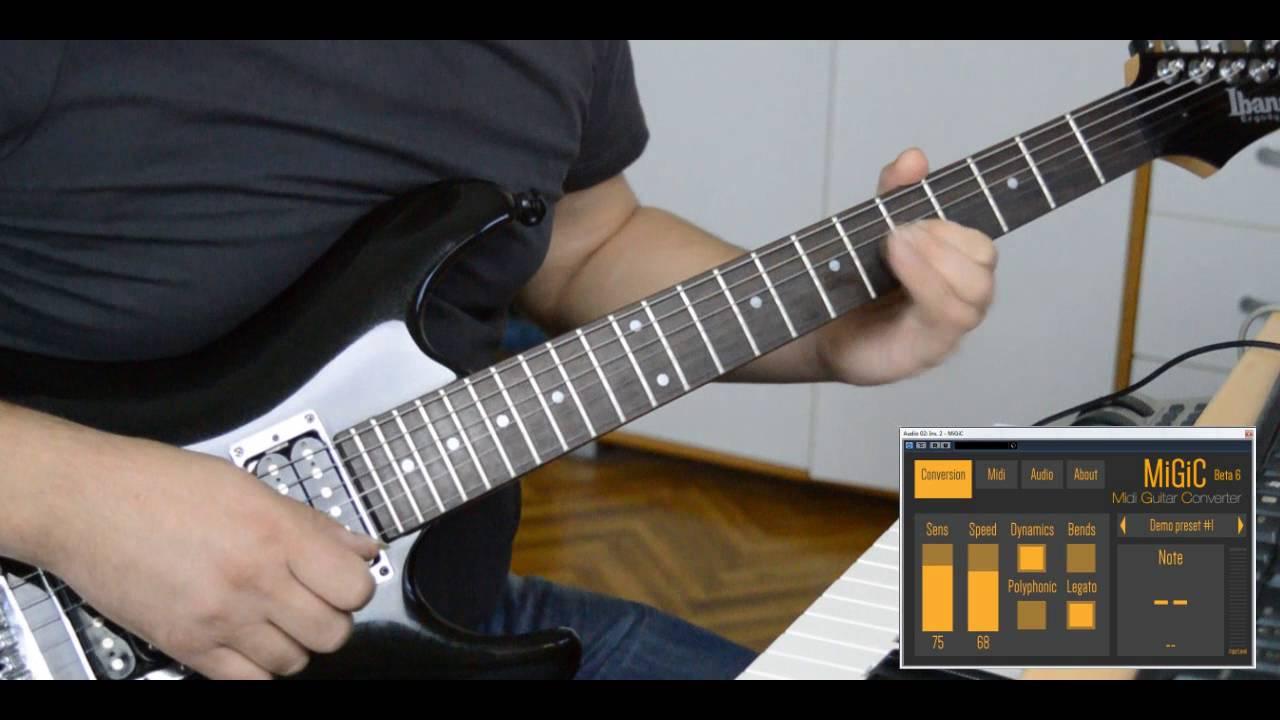 midi guitar converter vst