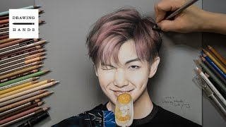 Speed Drawing BTS - Rapmonster [Drawing Hands]