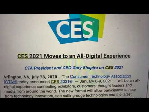 CES 2021 Goes All-Digital For 2021 In Big Economic Blow To Las Vegas And Nevada