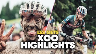 Muddiest Cross-Country Race Ever?   XCO Highlights from Les Gets
