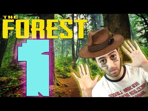 The Forest #1 - Youtuberlarla Ormanda İlk Gün