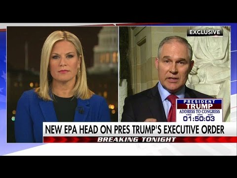 Scott Pruitt on First 100 Days