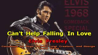 Can't Help Falling In Love - (HD Karaoke) (Original Version!) Elvis Presley