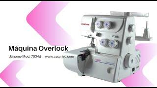 Overlock Janome 7034d ::  Casa Rizo
