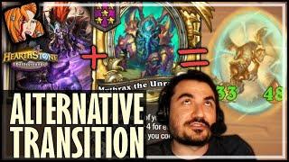 GAME WINNING DRAGON TRANSITION! - Hearthstone Battlegrounds