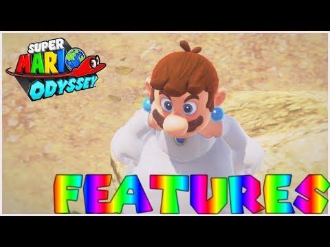 Super Mario Odyssey - Peach Wedding Amiibo Features (Max Health and exclusive Costume)