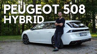 "Peugeot 508 SW Hybrid - brakuje w nim kropki nad ""i"""