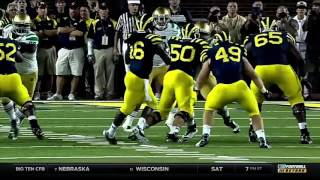 Top 10 Most Shocking Moments from Michigan and Michigan State Football