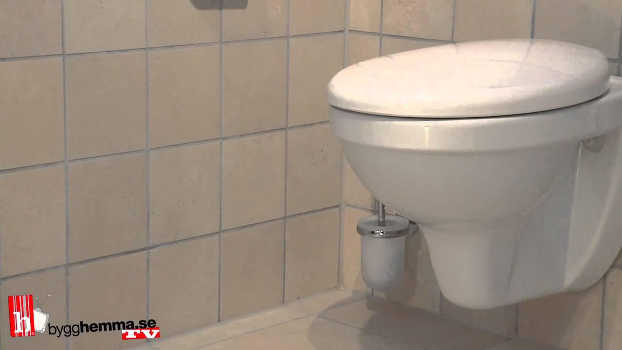 Bygghemma.se - Toalettstol Hafa Wall Komplett - YouTube