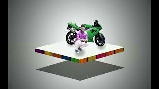 picsart new editing 3d photo editing || picsart 3d effect background