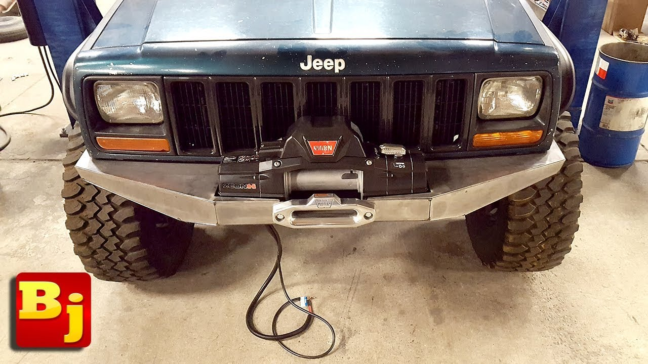 How to Build a Front Bumper Zj Homemade Bumper Plans on jeep zj bumpers, zj rear bumper bar, custom zj bumpers, grand cherokee bumpers,