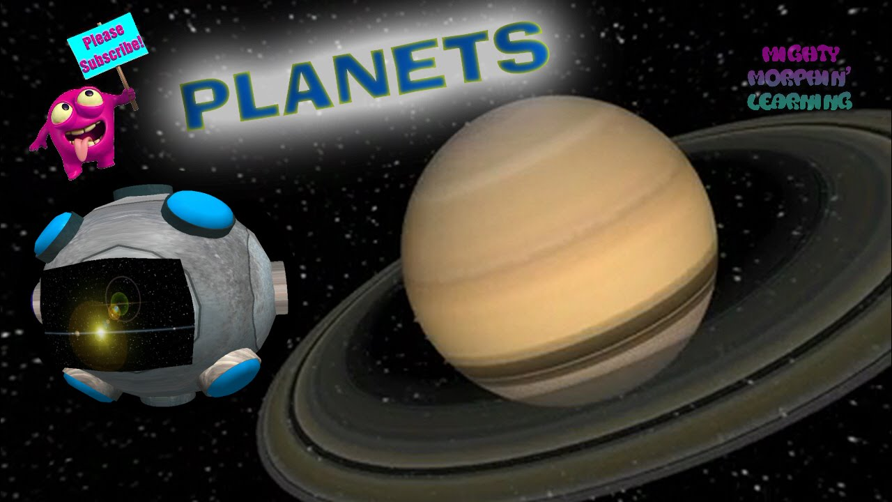 Kids Learn The Planets | Children Tour Our Solar System Like An Astronaut |  Mighty Morphin' Learning