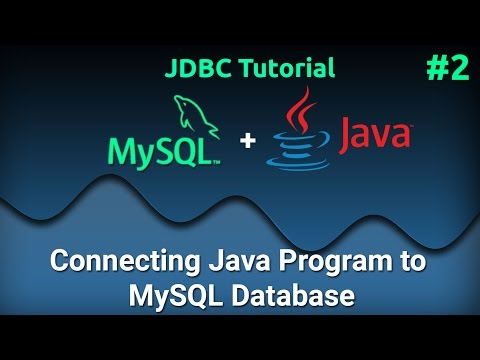 JDBC Tutorial for Beginners #2 : Connecting Java Program to MySQL Database