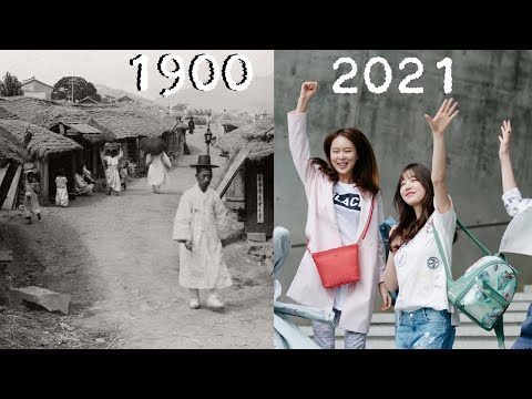 Evolution of Seoul 1900 - 2020 (South Korea)