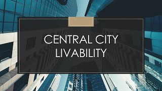 Creating a New Future for Chicago's Central City: Central City Livability