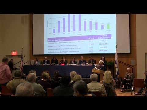 Staten Island Water Rate Hearing - 4/27/2015