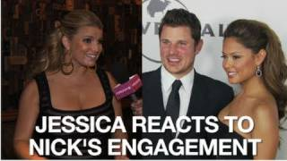 Jessica Simpson Engaged to Eric Johnson, Reacts to Nick Lachey's Engagement to Vanessa Minnillo