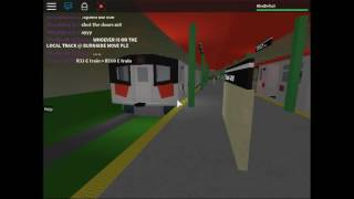 Railfanning along MTA (4) Line- Roblox