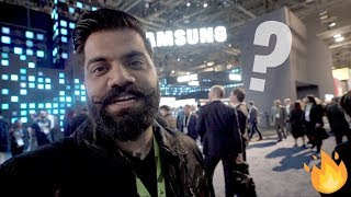 "Samsung 219"" TV, Connected Car, Samsung Bot and More - #CES19"