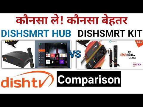 Dishsmrt Hub Vs Dishsmrt Kit | Dish Smart Hub Android Set Top Box Vs Dish Smart Kit Comparison?
