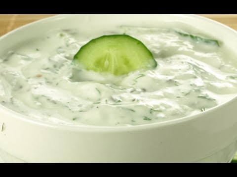 How to make cucumber raita indian cuisine video youtube forumfinder Images