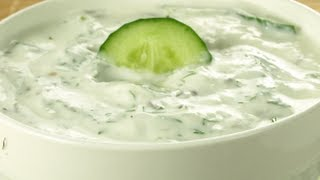 How to Make Cucumber Raita (Indian Cuisine Video)