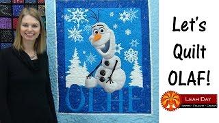 Frozen Characters Panel Quilt