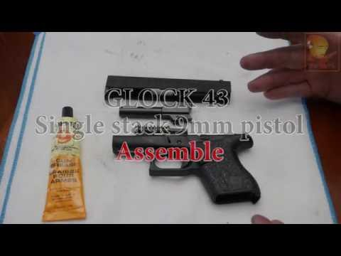 Guns for Dummies Glock 43 Single Stack 9mm pistol - Clean lubricate Assemble maintenance repair G43