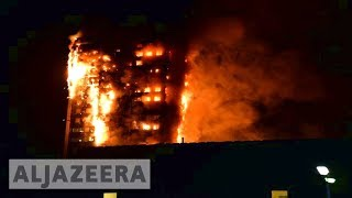 Memorial held for victims of Grenfell Tower fire