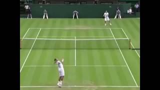 【Tennis・テニス】   Tsonga !!!! スーパープレイ