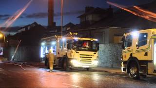 70 Firefighters Tackle Major Blaze At Aberdeen Hospital Site