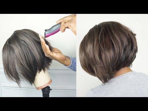 How To Clipper Amp Razor Cut A Bob Tutorial Final Wig