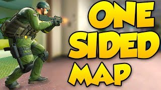 THE MOST ONE SIDED MAP IN CSGO - OFFICE COMPETITIVE