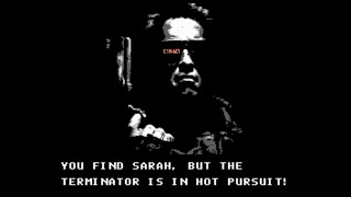 The Terminator (NES) Playthrough [60 FPS] - NintendoComplete