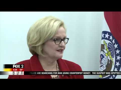 KTVI: Claire McCaskill Kicks off Series of Town Hall Meetings