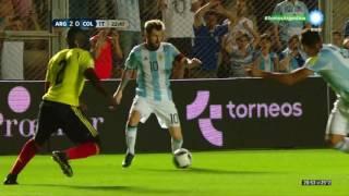Argentina 3 Colombia 0 - Eliminatorias Rusia 2018 - TV Publica (Gustavo Kuffner)