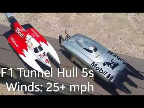 F1 Tunnel Hull 5s RC Boat
