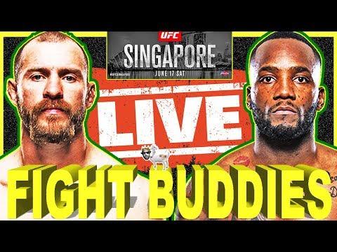 🔴 UFC SINGAPORE CERRONE VS EDWARDS + SAINT PREUX VS PEDRO LIVE FIGHT REACTION!