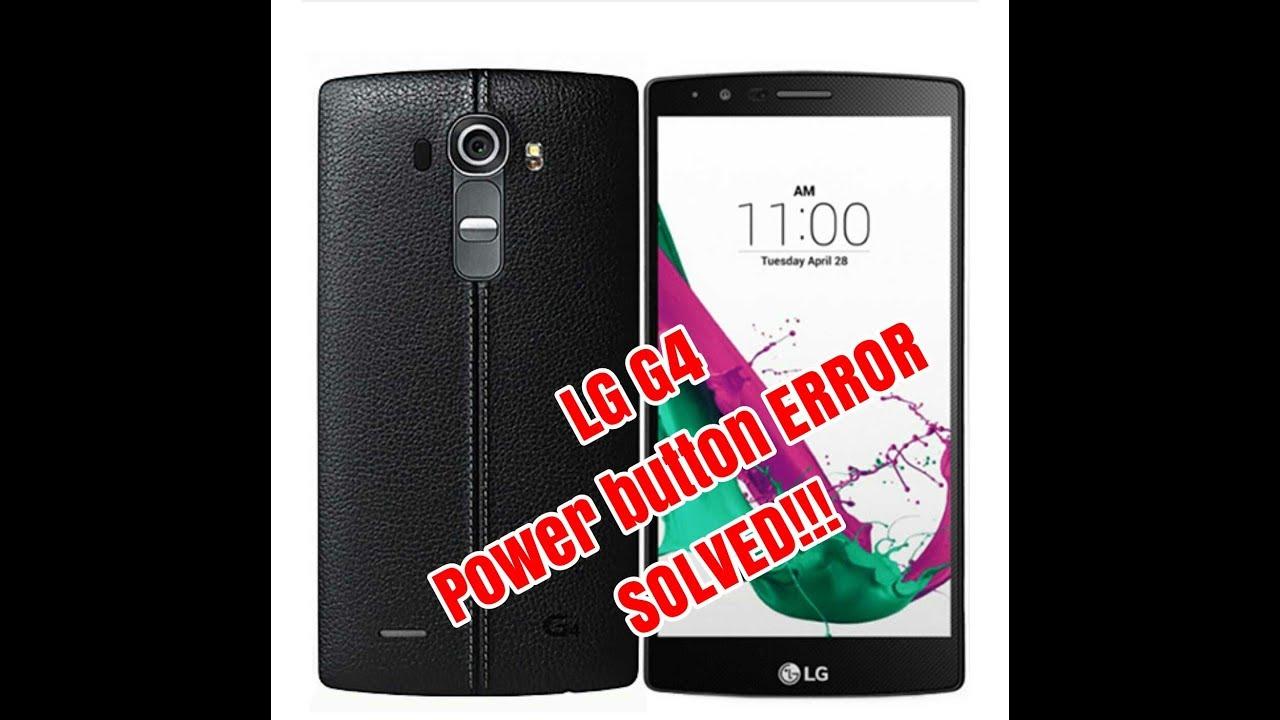 LG G4 Korea Power Button Error SOLVED Hp Tombol