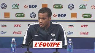 Plea «Bosser devant le but» - Foot - Bleus - L. nations