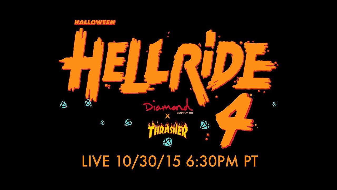 Diamond Supply Co x Thrasher Halloween Hellride 4