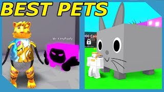 Giant Cat and Dark Matter Dominus Huge *Best Pet in the Game* Roblox Pet Simulator