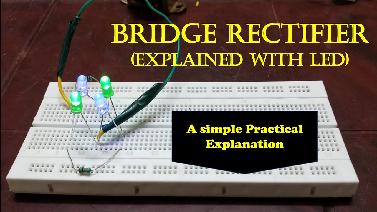 Bridge Rectifier with LED - In Tamil - EFU