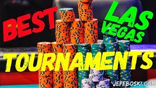 TOP 3 Las Vegas Poker Rooms!  (Summer Edition)