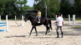Мария - урок по спортна езда
