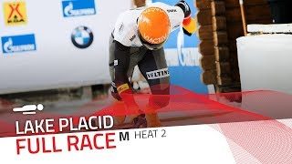 Lake Placid | BMW IBSF World Cup 2019/2020 - Men's Skeleton Heat 2 | IBSF Official