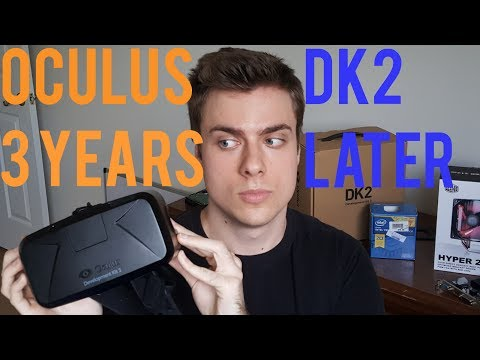 The Oculus DK2 Three Years Later