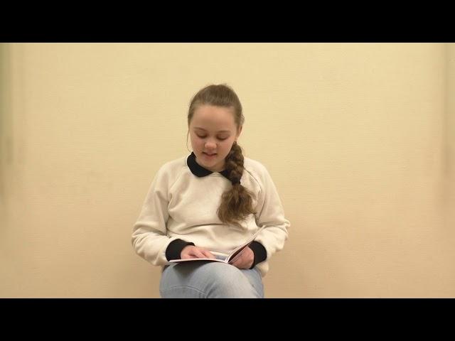 Изображение предпросмотра прочтения – УльянаЧемага читает произведение «Сломанный цветок» М.Беляева